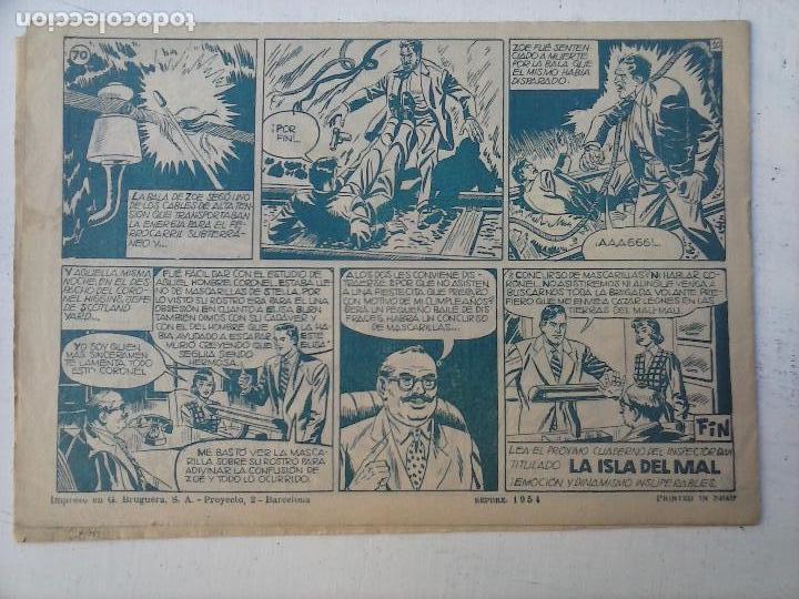 Tebeos: EL INSPECTOR DAN ORIGINAL Nº 70 - DIFICILISIMO- BRUGUERA 1954 - EUGENIO GINER, JULIO VIVAS - Foto 13 - 108277167