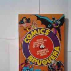 Tebeos: COMICS BRUGUERA - TOMO EXTRA CON DIFERENTES PERSONAJES - BATMAN - SUPERMAN.... - BE - CJ 101. Lote 149529424