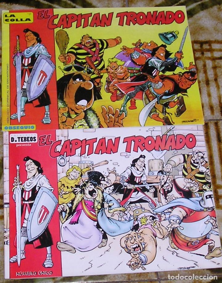 EL CAPITÁN TRONADO PACO NÁJERA COLECTIVO DE TEBEOS DOS VERSIONES (Tebeos y Comics - Bruguera - Capitán Trueno)