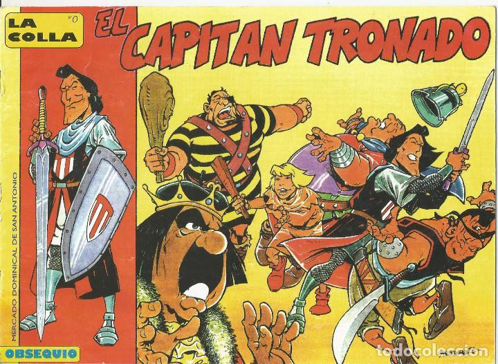EL CAPITÁN TRONADO PACO NÁJERA COLECTIVO DE TEBEOS (Tebeos y Comics - Bruguera - Capitán Trueno)