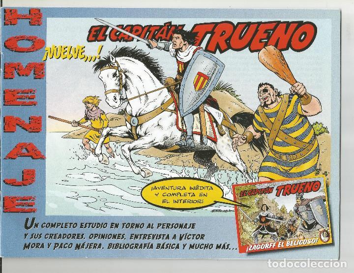 EL CAPITAN TRUENO - HOMENAJE ASOCIACIÓN DE AMIGOS DEL CAPITAN TRUENO (Tebeos y Comics - Bruguera - Capitán Trueno)