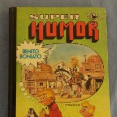 Tebeos: SUPER HUMOR BENITO BONIATO Nº 1 BRUGUERA 1ª EDICION AÑO 1984 ORIGINAL. Lote 108697339