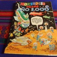 Tebeos: MORTADELO ESPECIAL Nº 18 AÑO 3000 CON LUC ORIENT. BRUGUERA 1977 50 PTS. BUEN ESTADO.. Lote 108711103