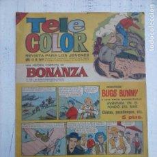 Tebeos: TELE COLOR Nº 169 - BONANZA - AVENTURA EN EL FONDO DEL MAR. Lote 108752911