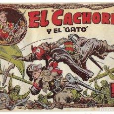 Livros de Banda Desenhada: EL CACHORRO Nº 98, IRANZO. EDITORIAL BRUGUERA, ORIGINAL 1955. EL CACHORRO Y EL GATO. Lote 239770195