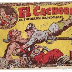 Tebeos: EL CACHORRO Nº 100, IRANZO. EDITORIAL BRUGUERA, ORIGINAL 1955. EL CACHORRO EN ZAFARRANCHO DE COMBATE. Lote 137270425