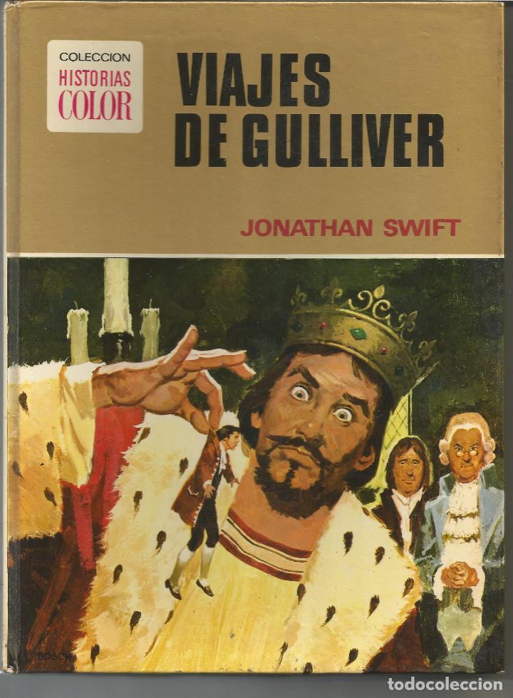 HISTORIAS COLOR VIAJES DE GULLIVER Nº 10 EDITORIAL BRUGUERA (Tebeos y Comics - Bruguera - Otros)