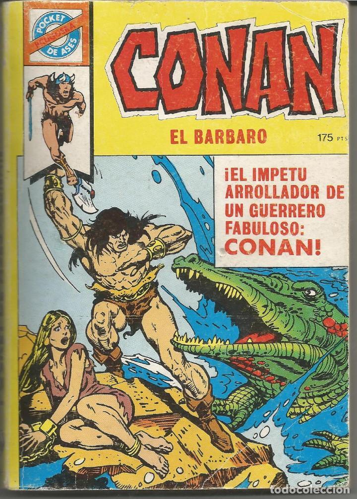 POCKET DE ASES CONAN EL BARBARO Nº 22 EDITORIAL BRUGUERA (Tebeos y Comics - Bruguera - Otros)