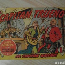 Tebeos: EL CAPITAN KRISNA. Nº 144 DE EL CAPITAN TRUENO. COLECCION DAN. BRUGUERA. 1959. DIBUJANTE AMBROS. Lote 108829307