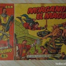 Tebeos: MORGANO EL MAGO. Nº 12 DE EL CAPITAN TRUENO. EDITORIAL BRUGUERA. 1956. AMBROS. Lote 108836395
