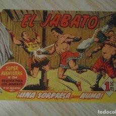 Tebeos: UNA SORPRESA PARA NUMA. Nº 76 DE EL JABATO COLECCION SUPER AVENTURAS. 1960. BRUGUERA. DARNIS. Lote 108837275