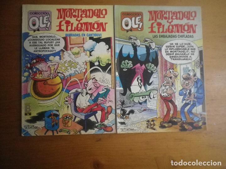 2 COMIC OLE MORTADELO Y FILEMON (Tebeos y Comics - Bruguera - Ole)