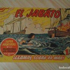 Tebeos: LLAMAS SOBRE EL MAR. Nº 99 DE EL JABATO. SUPER AVENTURAS. BRUGUERA. 1960. DARNIS. Lote 108902027