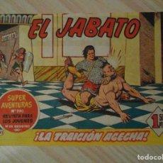 Tebeos: LA TRAICION ACECHA. Nº 83 DE EL JABATO. SUPER AVENTURAS. BRUGUERA. 1960. DARNIS. Lote 108902663