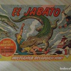 Tebeos: MISTERIOSA DESAPARICION. Nº 121 DE JABATO. DAN. BRUGUERA. COLECCION SUPER AVENTURAS. 1961. DARNIS. Lote 108912783