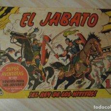 Tebeos: EL REY DE LOS HITITAS. Nº 19 DE JABATO. BRUGUERA. COLECCION SUPER AVENTURAS. 1959. DARNIS. Lote 108913371