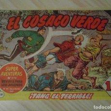 Tebeos: TANG, EL TERRIBLE. Nº 131 DE EL COSACO VERDE. EDITORIAL BRUGUERA. 1962. F. COSTA. Lote 108932563