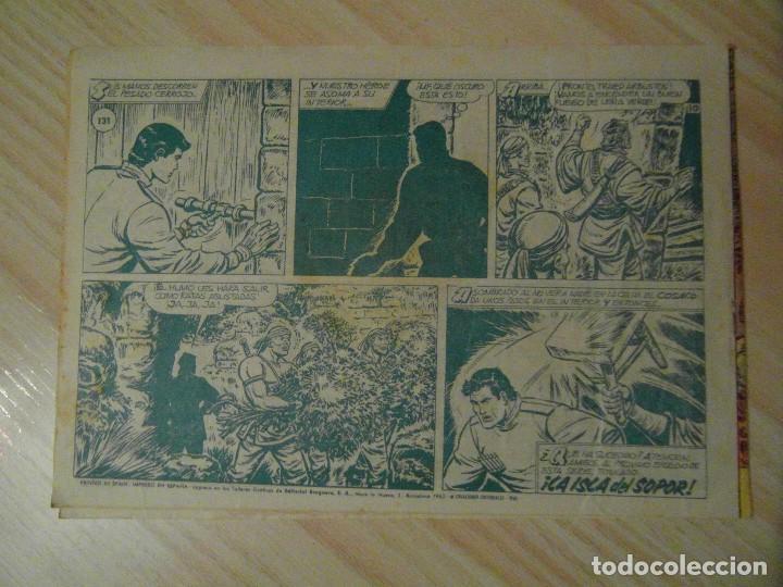 Tebeos: Tang, el terrible. Nº 131 de el Cosaco Verde. Editorial Bruguera. 1962. F. Costa - Foto 2 - 108932563