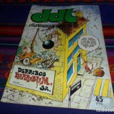Tebeos: DDT ALMANAQUE 1977. BRUGUERA 45 PTS. BUEN ESTADO Y RARO.. Lote 108990459