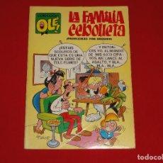 Tebeos: COLECCION OLE Nº 4. LA FAMILIA CEBOLLETA. 1971. 40 PTS. 1ª EDICION. NUMERO EN EL LOMO . C-8A. Lote 108998863