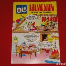 Tebeos: OLE Nº 13. AGAMENON. 1971. 40 PTS. 1ª EDICION. NUMERO EN EL LOMO . C-8A. Lote 109009335