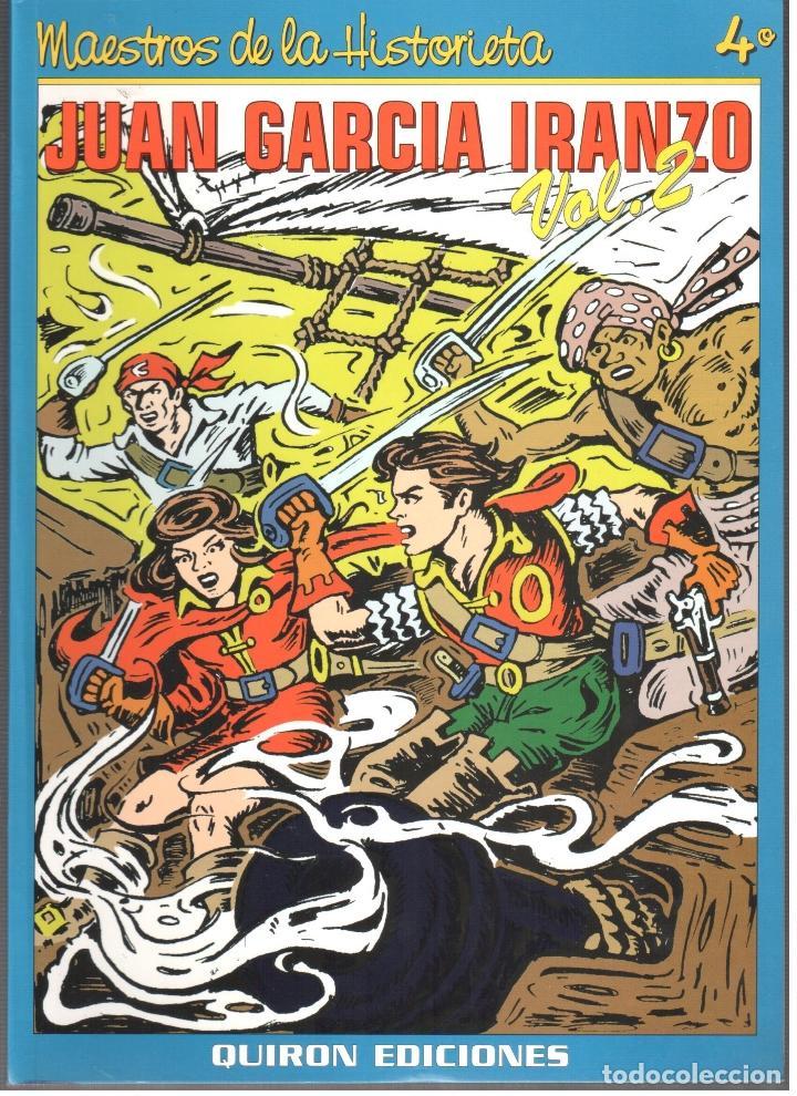 JUAN GARCIA IRANZO. AUTOR DE EL CACHORRO. MAESTROS DE LA HISTORIETA. 2 TOMOS. 200 PAGINAS (Tebeos y Comics - Bruguera - El Cachorro)