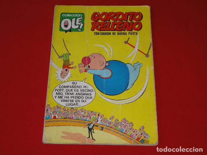 OLE Nº 24. GORDITO RELLENO. 1971. 40 PTS.1ª EDICION. NUMERO EN EL LOMO . C-8A (Tebeos y Comics - Bruguera - Ole)