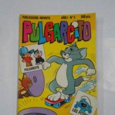 Tebeos: PULGARCITO PUBLICACION INFANTIL Nº 2. AÑO I. PULGARCITO. LOS PITUFOS. TDKC15. Lote 109076443