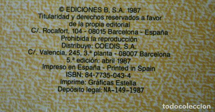 Tebeos: LIBRO COMIC SUPER HUMOR VOLUMEN TOMO Nº 13 AÑO 1987 – MORTADELO FILEMON ZIPI ZAPE - EDICIONES B - Foto 2 - 109108375