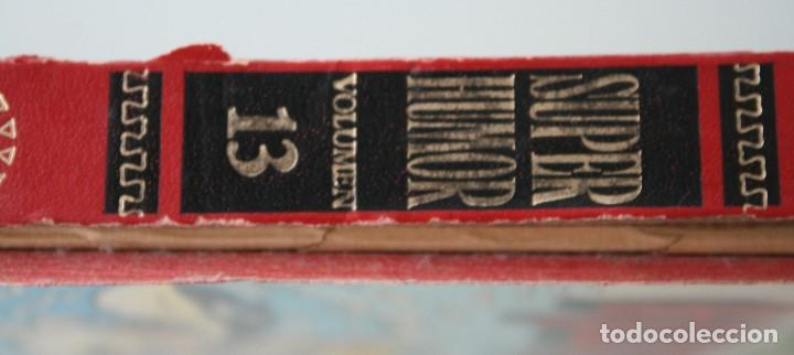 Tebeos: LIBRO COMIC SUPER HUMOR VOLUMEN TOMO Nº 13 AÑO 1987 – MORTADELO FILEMON ZIPI ZAPE - EDICIONES B - Foto 3 - 109108375