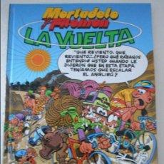 Tebeos: MORTADELO Y FILEMON. LA VUELTA. GUION E ILUSTRACIONES DE F. IBAÑEZ. SERVIRED. TAPA DURA. 46 PAGINAS.. Lote 109146687