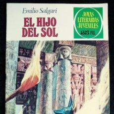 Tebeos: JOYAS LITERARIAS - Nº 83 - EL HIJO DEL SOL - EMILIO SALGARI - AÑO 1979 - ED BRUGUERA. Lote 109161755