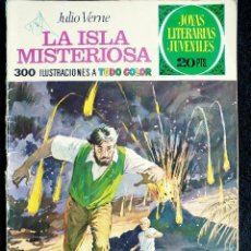 Tebeos: JOYAS LITERARIAS- Nº 13 - LA ISLA MISTERIOSA - JULIO VERNE - AÑO 1974 - ED BRUGUERA. Lote 109162391