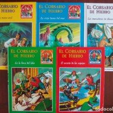 Tebeos: CORSARIO DE HIERRO PLANETA TOMOS Nº 1 AL 5 TEST DE MERCADO COMPLETO QUE NO SE LLEGÓ A EDITAR. Lote 109169891