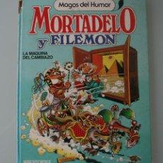 Tebeos: LIBRO COMIC MAGOS DEL HUMOR MORTADELO Y FILEMON LA MAQUINA DEL CAMBIAZO TOMO Nº 10 AÑO 1985 –1ª EDIC. Lote 109171819