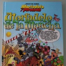 Tebeos: LIBRO COMIC MAGOS DEL HUMOR MORTADELO Y FILEMON MORTADELO DE LA MANCHA TOMO Nº 103 2005 –1ª EDICIÓN. Lote 109172083