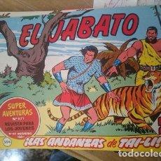 Tebeos: COMIC EL JABATO N 306 - LAS ANDANZAS DE TAI-LI -REFM1E2. Lote 109205211