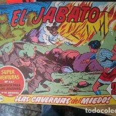Tebeos: COMIC EL JABATO N 304 - LAS CAVERNAS DEL MIEDO. Lote 109205335