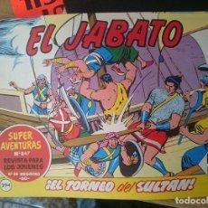 Tebeos: COMIC EL JABATO N 294 - EL TORNEO DEL SULTAN. Lote 109205599
