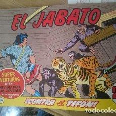 Tebeos: COMIC EL JABATO N 291 - CONTRA EL TIFON. Lote 109205655