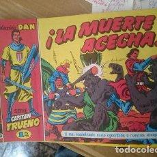 Tebeos: COMIC COLECCION DAN - CAPITAN TRUENO - LA MUERTE ACECHA -REFM1E2. Lote 109205691