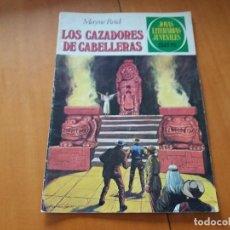 Tebeos: LOS CAZADORES DE CABELLERAS. MAYNE REID. BRUGUERA. JOYAS LITERARIAS. N° 66. TERCERA EDICIÓN, 1981. Lote 109440619
