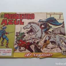 Tebeos: EL MOSQUETERO AZUL Nº 17 - BRUGUERA - 1962 ORIGINAL CSADUR86. Lote 109452079