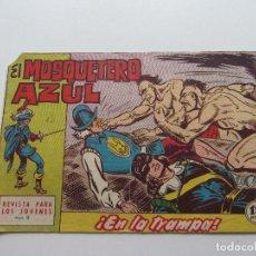 Tebeos: EL MOSQUETERO AZUL Nº 9 - BRUGUERA - 1962 ORIGINAL CSADUR86. Lote 109452235