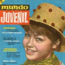 Tebeos: MUNDO JUVENIL - Nº 8 - REVISTA DE LOS AMIGOS DE MARISOL - EDITORIAL BRUGUERA - AÑO 1963.. Lote 109470899