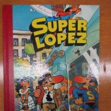 Tebeos: SUPER LOPEZ TOMO Nº 1 PRIMERA EDICION 1988 BRUGUERA IMPECABLE. Lote 109836435