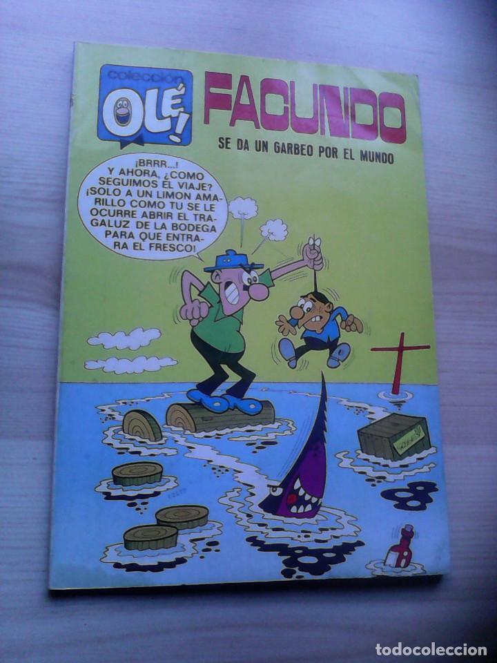 COLECCIÓN OLÉ. 1ª EDICIÓN. FACUNDO. Nº 16 (Tebeos y Comics - Bruguera - Ole)