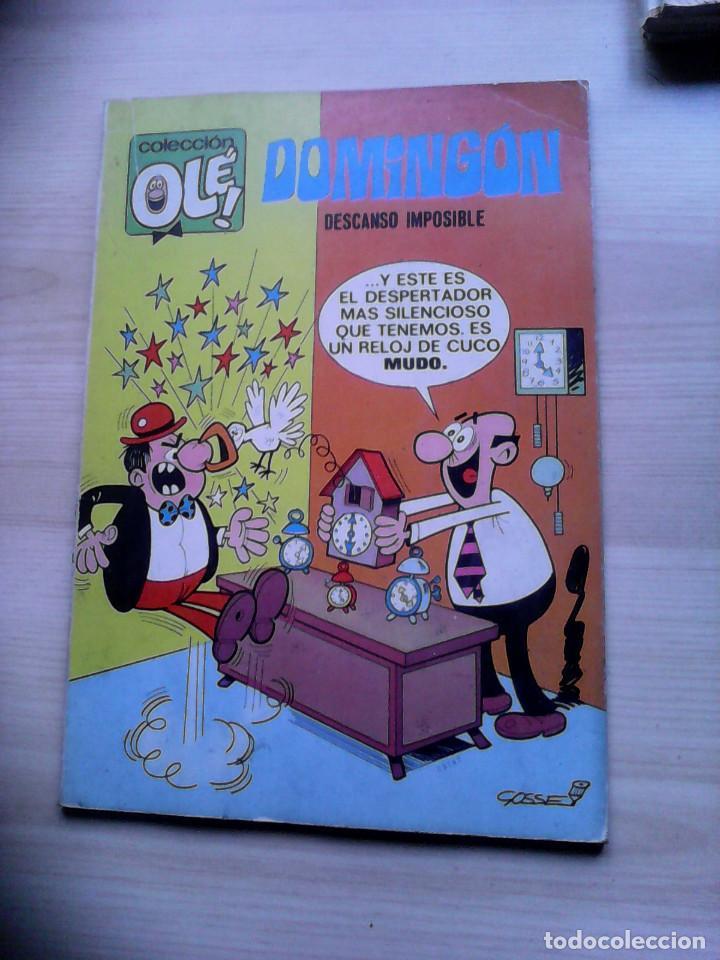 COLECCIÓN OLÉ. 1ª EDICIÓN. DOMINGÓN Nº 20 (Tebeos y Comics - Bruguera - Ole)