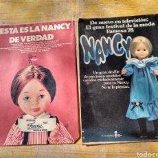 Tebeos: DOS REVISTAS LILY CON PROPAGANDA DE NANCY DE FAMOSA. Lote 110025211