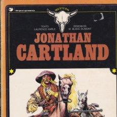 Tebeos: JONATHAN CARTLAND. PRIMER ÁLBUM . EN PORTUGUÉS. DE LAURENCE HARLE Y M. BLANC-DUMONT. Lote 110033303